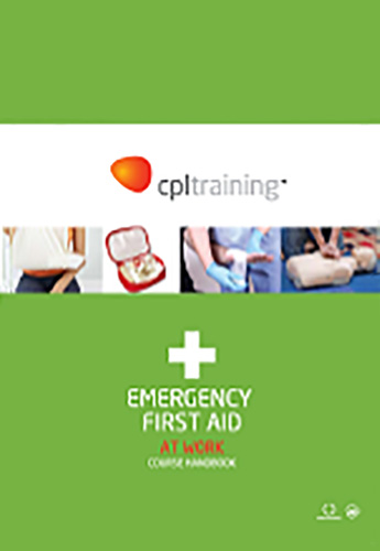 Emergency First Aid At Work Handbook  cover